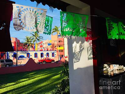 Photograph - Mexico Window View by Bill Thomson