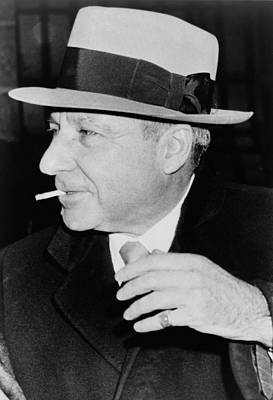 Bsloc Photograph - Meyer Lansky 1902-1983, Reached by Everett