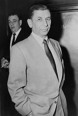 Ancestry Photograph - Meyer Lansky 1902-1983, Underworld by Everett