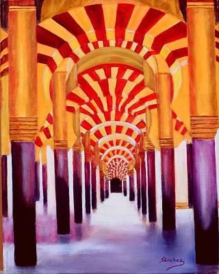 Painting - Mezquita De Cordoba by Manuel Sanchez