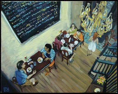 Edward Williams Painting - Mezzanine's by Edward Williams