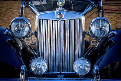 Photograph - Mg Cars 003 by Edgar Laureano