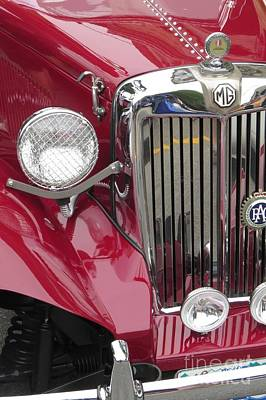 Photograph - Mg Chrome by Frank Townsley