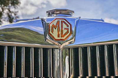 Photograph - MG by Dennis Dugan