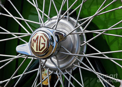 Photograph - Mg Hub by Chris Dutton