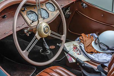 Photograph - Mg Interior by Keith Smith