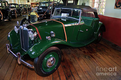 Photograph - Mg Roadster by Jill Lang