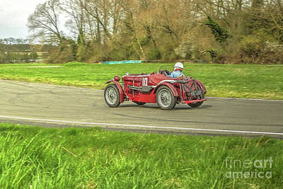 Racing Car Photograph - Mg Sports Car by Catchavista