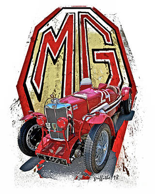 Photograph - Mg T Type by Tom Griffithe