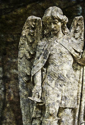 Photograph - Marble Angel by Gary Shepard