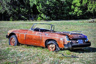 Photograph - Mgb Datsun Roadster by Savannah Gibbs