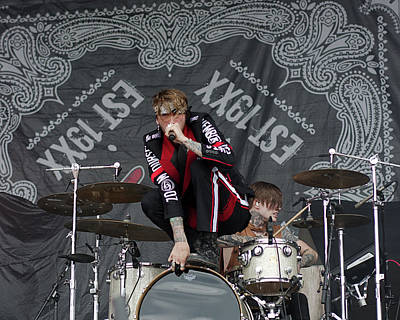Csn Photograph - Mgk Drums by CSN Photography