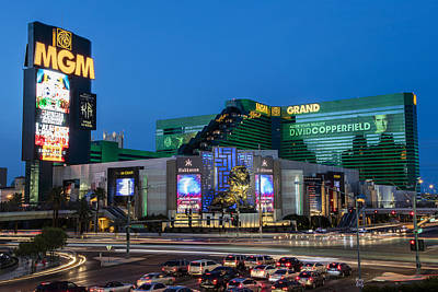 Photograph - Mgm Las Vegas  by John McGraw