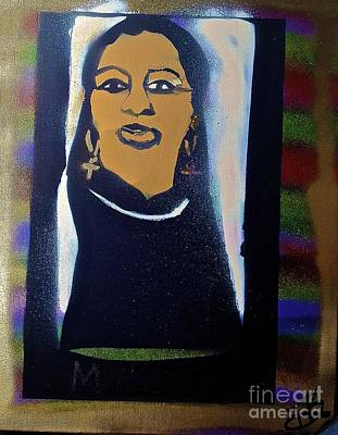 Dr. Martin Luther King Jr Painting - M.g.t. Sistah by Tony B Conscious