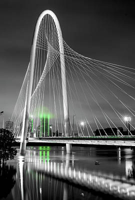 Photograph - Mhh Suspension Bridge Green 82216 by Rospotte Photography
