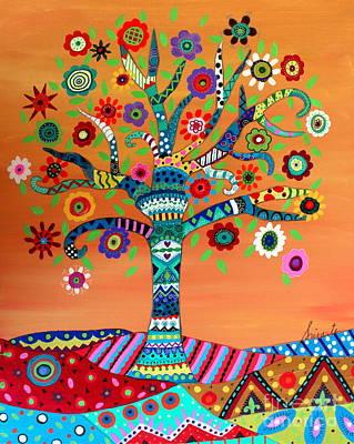 Painting - Mhuri by Pristine Cartera Turkus