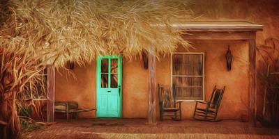 Mi Casa Art Print by Nikolyn McDonald
