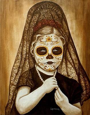 Painting - Mi Hermosa Flor by Al  Molina