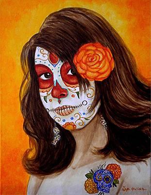 Mi Hija Hermosa Art Print