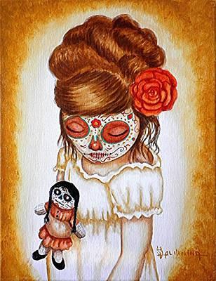 Portaits Painting - Mi Munequita Hermosa by Al  Molina