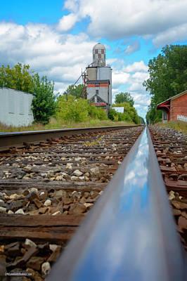 Photograph - Mi New Haven Rail Road Reflections by LeeAnn McLaneGoetz McLaneGoetzStudioLLCcom