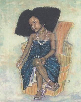 Mi Sheri Amour Print by Brenda Dulan Moore