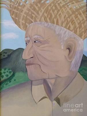 Campesinos Painting - Mi Tierra by Wanda Pedrosa