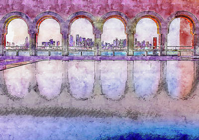 Digital Art - Mia Arches by Ruth Moratz