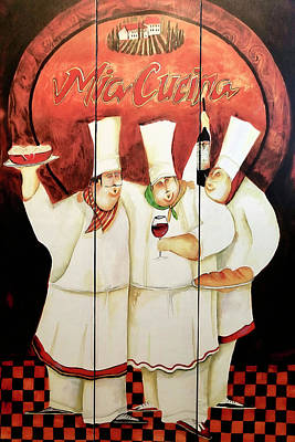 Photograph - Mia Cucina by Donna Kennedy