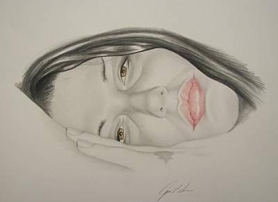 Steven Tyler Drawing - Mia Tyler by John Senior