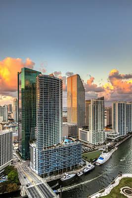Miami Bayside Art Print