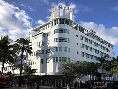 Photograph - Miami Beach Albion Hotel by Andrew Dinh