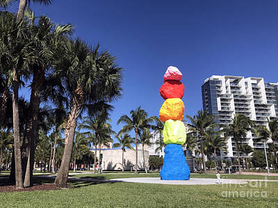 Photograph - Miami Beach Park by Andrew Dinh