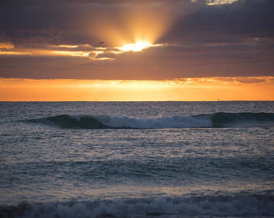 Photograph - Miami Beach Florida Sunrise by Toby McGuire