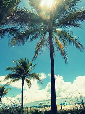 Photograph - Miami Beach by France Laliberte