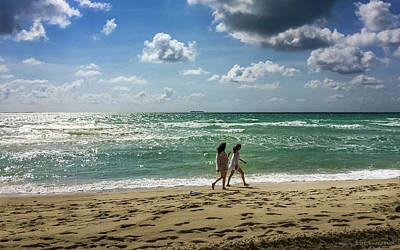 Photograph - Miami Beach by Frank Mari