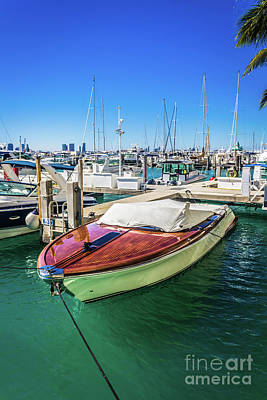 Photograph - Miami Beach Marina 4505 by Carlos Diaz