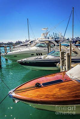 Photograph - Miami Beach Marina 4507 by Carlos Diaz