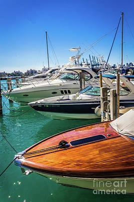 Photograph - Miami Beach Marina 4507 by Carlos Diaz