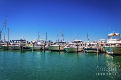 Photograph - Miami Beach Marina 4515 by Carlos Diaz