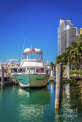 Photograph - Miami Beach Marina 4516 by Carlos Diaz