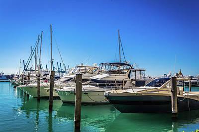 Photograph - Miami Beach Marina 4523 by Carlos Diaz