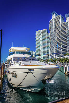 Photograph - Miami Beach Marina 4606 by Carlos Diaz