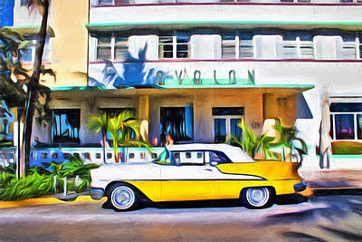 Photograph - Miami Beach - Miami Beach Series 16 by Carlos Diaz
