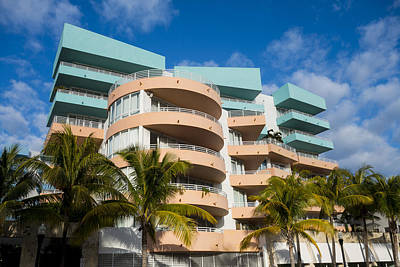 Photograph - Miami Beach South Beach Art Deco Condos by Toby McGuire