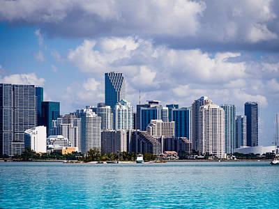 Photograph - Miami Blues by Robin Zygelman