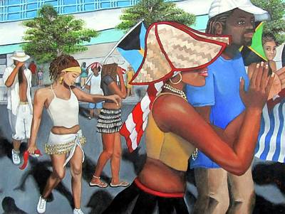 Painting - Miami Carnival by Alima Newton