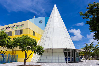 Photograph - Miami Children's Museum by Ed Gleichman