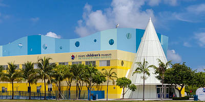 Photograph - Miami Children's Museum II by Ed Gleichman