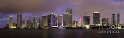 Photograph - Miami Dawn by Brian Jannsen